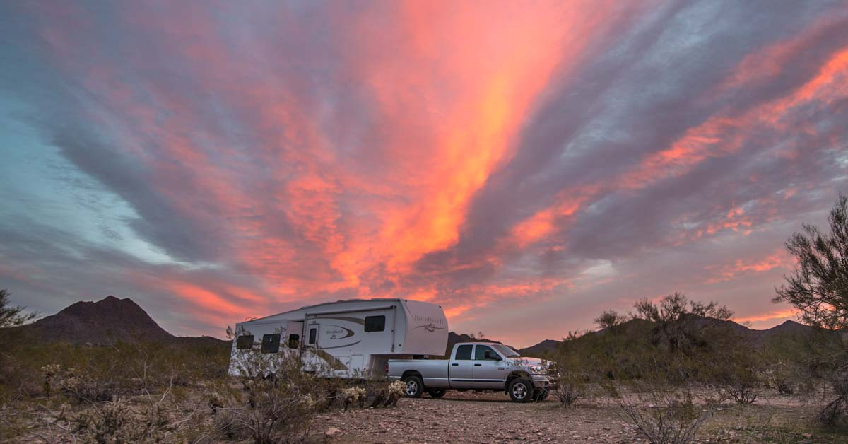 Arizona Rv Boondocking Camping And Travel Highlights