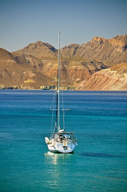 Living in a boat in the Sea of Cortez