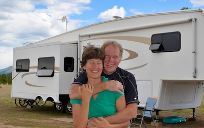 RV blog about living in a fifth wheel trailer full-time