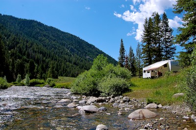RV blog photo from our boondocking and rv travel in Sun Valley Idaho
