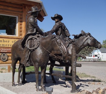 Dillon, Montana, Bradford J Williams Sculpture