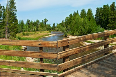 Pinedale, Wyoming, Footbridge