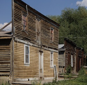 Virginia City, Montana, army barracks converted to house workers