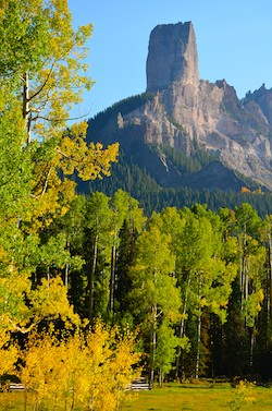 Ridgway Colorado Fall Colors - Owl Creek Pass Chimney Rock Dallas Divide San Juan Mountains