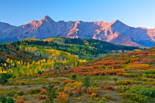 Dallas Divide Colorado Fall Foliage Photography Workshop