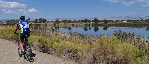Fruita Colorado Paved River Bike Path