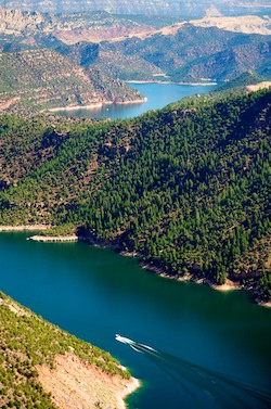 RVers coming to Flaming Gorge will find stunning views and camping