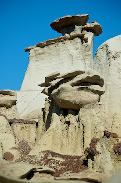 Bisti Badlands New Mexico hoodoos