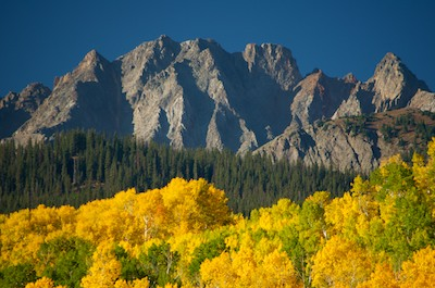 Ridgway Colorado Fall Colors West Dallas Creek Dallas Divide San Juan Mountains