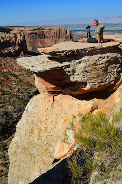 Fruita Colorado National Monument Cold Shivers Point