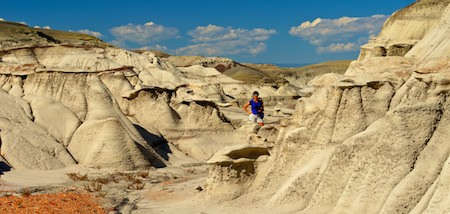 Bisti Badlands Rock Formations