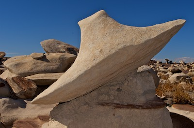 Bisti Badlands New Mexico Flying Saucer