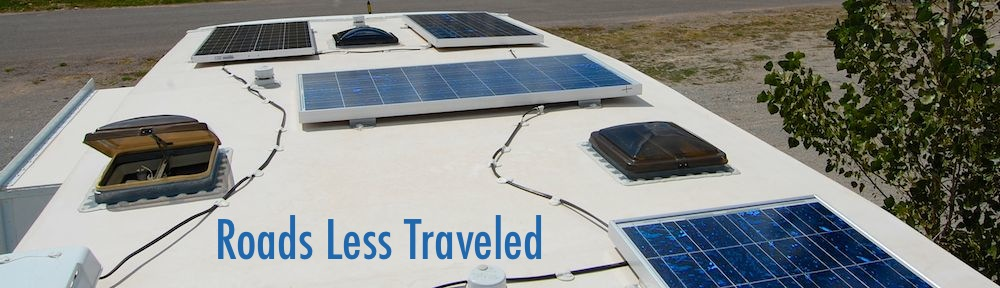 RV and marine Solar power installation tutorial