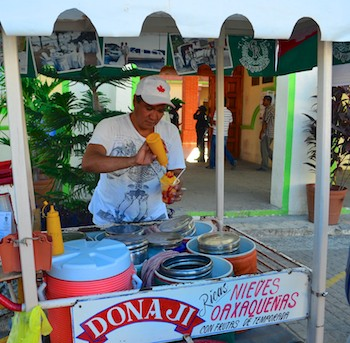 Hagia Sofia Huatulco Oaxacan Kiss Ice Cream (sailing blog)