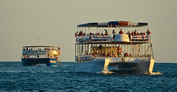Touring catamarans in Huatulco Mexico (from our cruising blog)