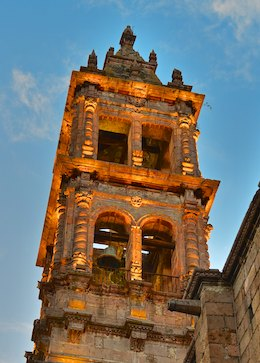 Morelia Mexico church steeple living aboard blog