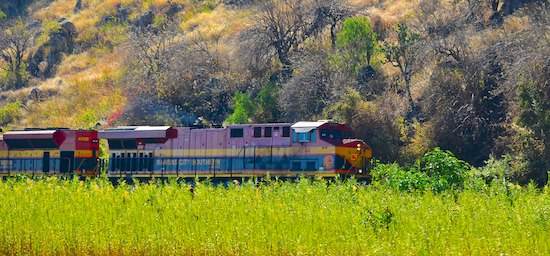 Kansas City Southern Train Mexico sailing blog