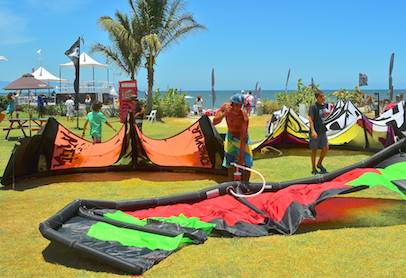 kiteboard world cup competitor