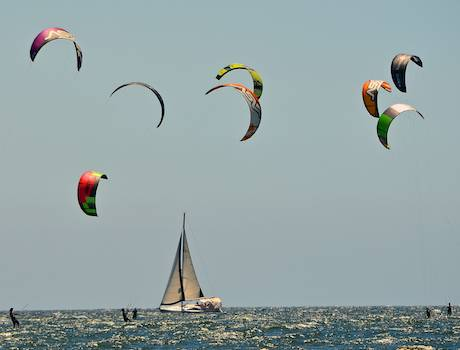 kiteboarding races in mexico