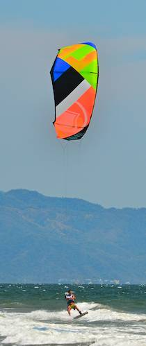 world cup kiteboarding races mexico