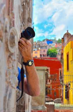 Street photography in Guanajuato