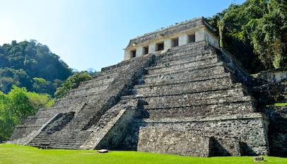 Palenque - an evocative and mystical place of the ancients