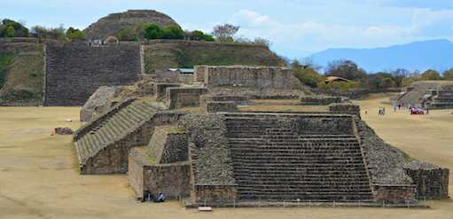 Monte Alban - the first ancient pyramid ruins we ever saw