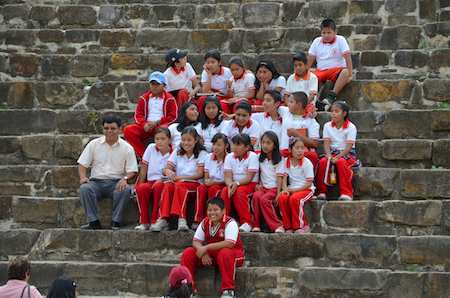 Class Trip to Monte Alban