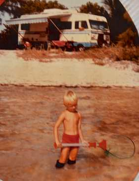 Full-time RV childhood in a Motorhome in the 1980's