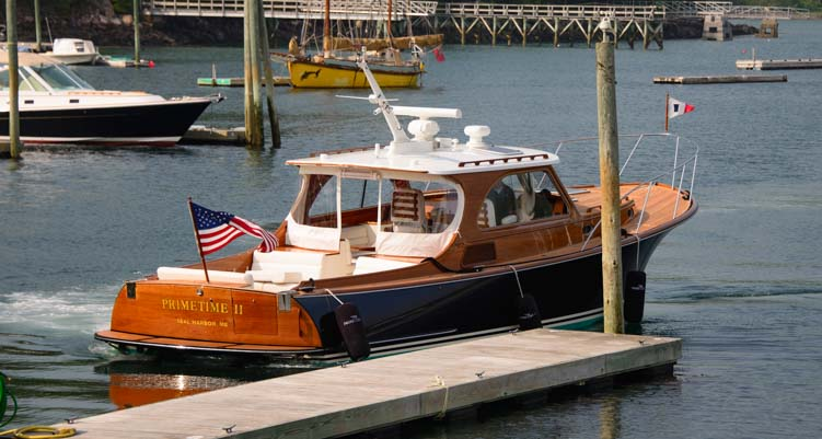 Hinckley Yacht at Southwest Harbor Maine