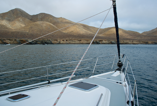 Anchored in Bahia Santa Maria Baja California
