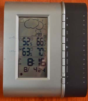 Electronic weather station 301