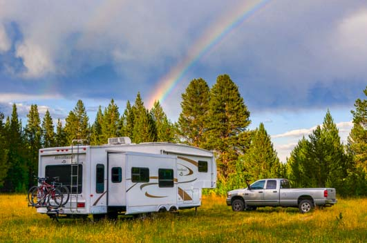 Big hole Montana boondocking
