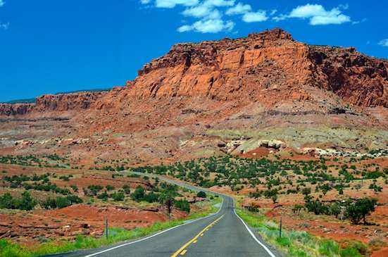 Driving in Utah brings one jaw-dropping view after another...
