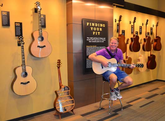 Taylor Guitars factory tour