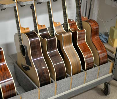 480-500 guitars are completed each day.
