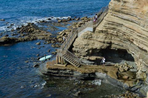 Sunset Cliffs Staircase