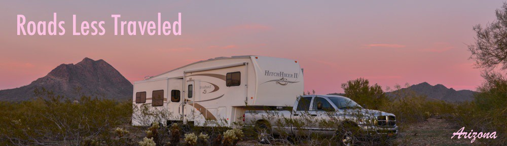 Arizona Sunset with RV