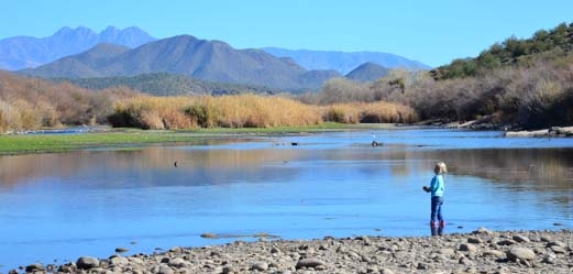 Fishing on the Salt River