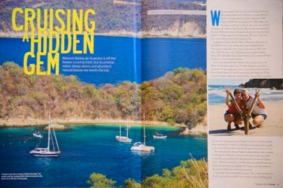 Sailing Magazine February 2014 Huatulco Mexico