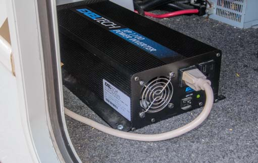 How big an inverter do you need to boondock in an RV?