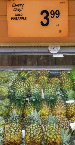 Expensive pineapples in Phoenix