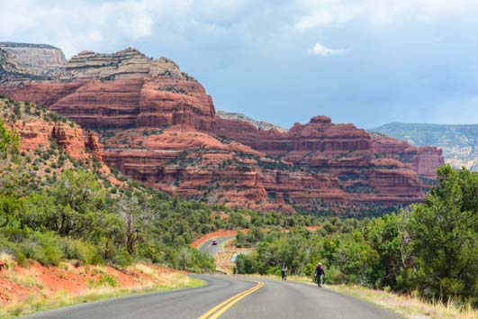 Red rocks in West Sedona