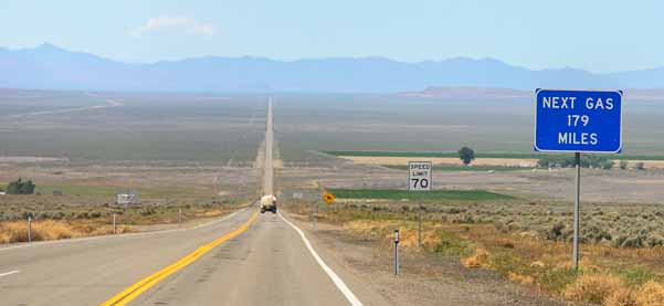 Open Roads of Nevada