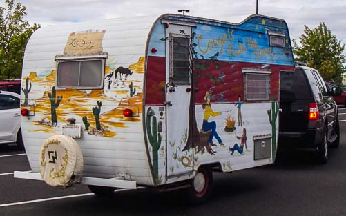 Wild paint job - Sisters on the Fly RV club