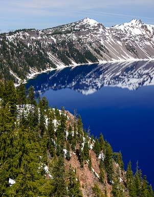 Beautiful Crater Lake National Park