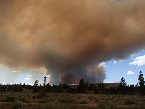 Two Bulls Wildfire Bend Oregon June 2014
