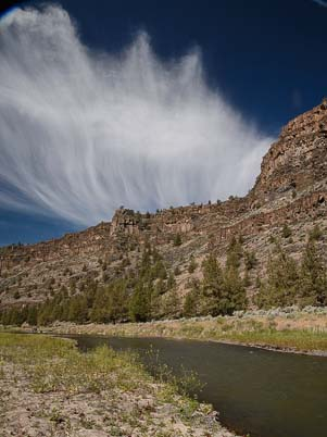 Cloud Formations Crooked River Prineville Oregon