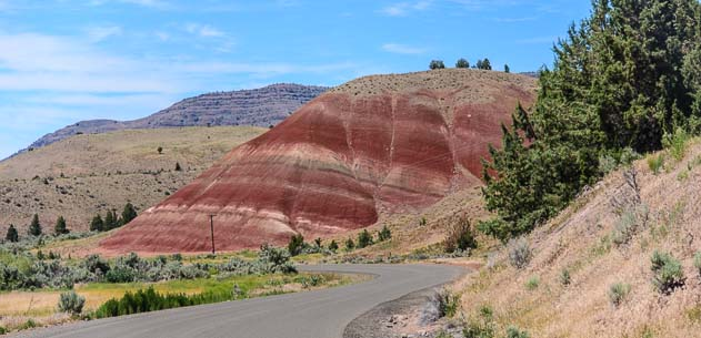 Painted Hills John Day Fossil Beds National Monument Oregon