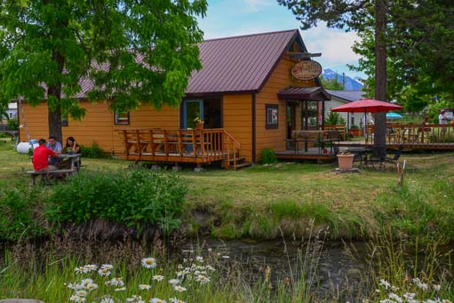 Red Horse Coffee Roasters cafe in Joseph Oregon